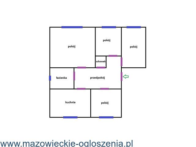 Sprzedam bezczynszowe mieszkanie w miejscowości Krajkowo, gm. Drobin